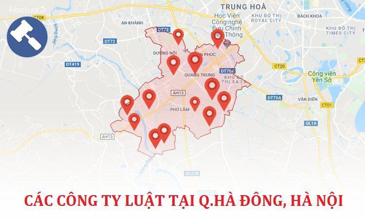 Các công ty luật uy tín ở Hà Đông