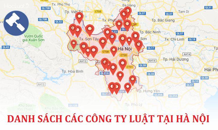 Danh sách 11 văn phòng luật uy tín tại Hà Nội