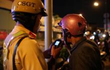 Mức xử phạt đối với hành vi uống rượu bia khi tham gia giao thông