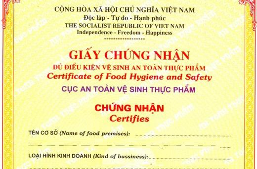 Hướng dẫn xin giấy phép kinh doanh thực phẩm chức năng