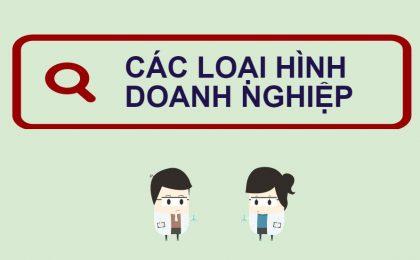 Các loại hình doanh nghiệp ở Việt Nam hiện nay