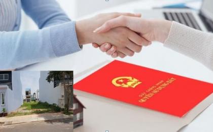 Thủ tục mua bán đất đai có sổ đỏ